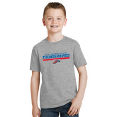 Youth Grey T-Shirt-Mesa Community College Thunderbirds