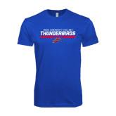 Next Level SoftStyle Royal T Shirt-Mesa Community College Thunderbirds
