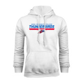 White Fleece Hoodie-Mesa Community College Thunderbirds