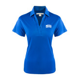 Ladies Royal Performance Fine Jacquard Polo-Mesa Community College Arched