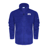 Columbia Full Zip Royal Fleece Jacket-Mesa Community College Arched