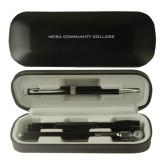 Black Roadster Gift Set-Mesa Community College Flat Engraved