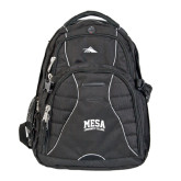 High Sierra Swerve Black Compu Backpack-Mesa Community College Arched