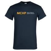 Navy T Shirt-Horizontal
