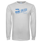 White Long Sleeve T Shirt-Class of…