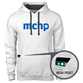 Contemporary Sofspun White Hoodie-MCHP