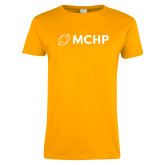 Ladies Gold T Shirt-Secondary Mark