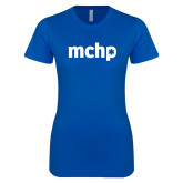 Next Level Ladies SoftStyle Junior Fitted Royal Tee-MCHP