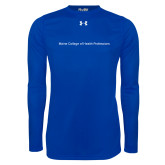 Under Armour Royal Long Sleeve Tech Tee-Maine College of Health Professions