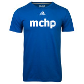Adidas Climalite Royal Ultimate Performance Tee-MCHP