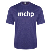Performance Royal Heather Contender Tee-MCHP