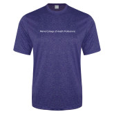Performance Royal Heather Contender Tee-Maine College of Health Professions