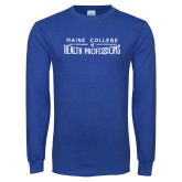 Royal Long Sleeve T Shirt-Distressed Stacked