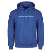 Royal Fleece Hoodie-Maine College of Health Professions