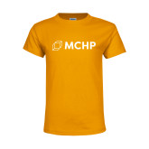 Youth Gold T Shirt-Secondary Mark