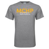 Grey T Shirt-Overlapping