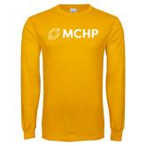 Gold Long Sleeve T Shirt-Secondary Mark