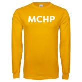 Gold Long Sleeve T Shirt-MCHP