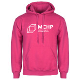Fuchsia Fleece Hoodie-Primary Mark