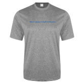 Performance Grey Heather Contender Tee-Maine College of Health Professions