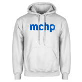White Fleece Hoodie-MCHP
