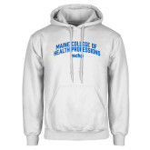 White Fleece Hoodie-Arched