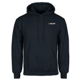 Navy Fleece Hoodie-Secondary Mark