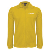 Fleece Full Zip Gold Jacket-Secondary Mark