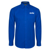Royal Twill Button Down Long Sleeve-MCHP
