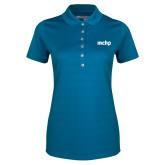 Ladies Callaway Opti Vent Sapphire Blue Polo-MCHP