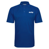 Royal Textured Saddle Shoulder Polo-MCHP