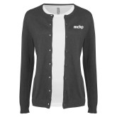 Ladies Charcoal Cardigan-MCHP