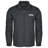 Full Zip Charcoal Wind Jacket-MCHP