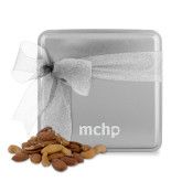 Deluxe Nut Medley Silver Medium Tin-MCHP  Engraved