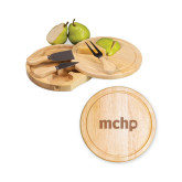 7.5 Inch Brie Circular Cutting Board Set-MCHP  Engraved