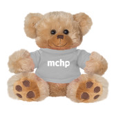 Plush Big Paw 8 1/2 inch Brown Bear w/Grey Shirt-MCHP