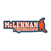 Medium Decal-McLennan Highlanders, 8 inches wide