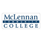 Large Decal-McLennan Community College, 12 inches wide