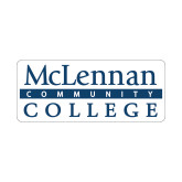 Small Decal-McLennan Community College, 6 inches wide