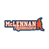 Small Decal-McLennan Highlanders, 6 inches wide