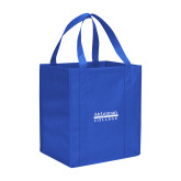 Non Woven Royal Grocery Tote-McLennan Community College