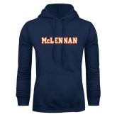 Navy Fleece Hoodie-McLennan