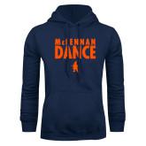 Navy Fleece Hoodie-Dance