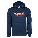 Under Armour Navy Performance Sweats Team Hoodie-McLennan Highlanders