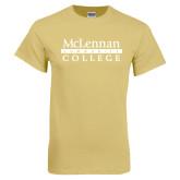 Champion Vegas Gold T Shirt-McLennan Community College