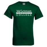 Dark Green T Shirt-McLennan Community College
