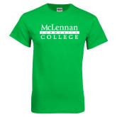 Kelly Green T Shirt-McLennan Community College