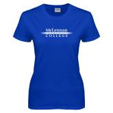 Ladies Royal T Shirt-McLennan Community College