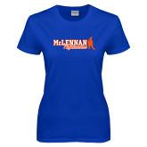 Ladies Royal T Shirt-McLennan Highlassies