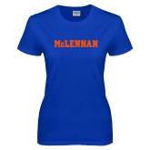Ladies Royal T Shirt-McLennan Solid